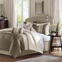 Madison Park Amherst Comforter Set, King, Natural