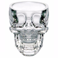 Skull Head Vodka Whiskey Shot Glass Cup Drinking Ware