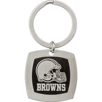 Stainless Steel Cleveland Browns Logo Key Chain