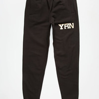 Yrn Rich Nation Mens Sweatpants Black  In Sizes
