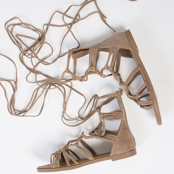 Knot It Up Gladiator Sandals - 6