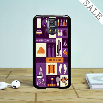Welcome To Night Vale Collage Samsung Galaxy S5 Case