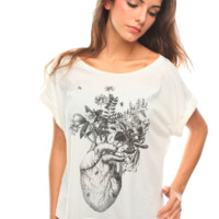 Heart Plant T-shirt - New - Garments