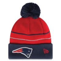 New England Patriots New Era 2014 Thanksgiving On-Field Cuffed Knit Hat – Navy Blue