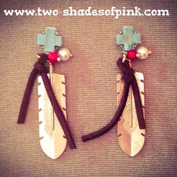 BOHO WESTERN CHIC EARRINGS