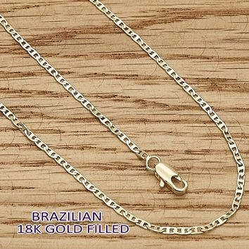 Gold Layered Women Mariner Basic Necklace, by Folks Jewelry