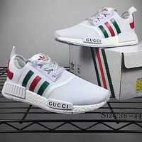 Adidas x GUCCI NMD Fashion Women Casual Running Sneakers Sport Shoes