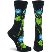 Witches Garden Morning Glory Sock
