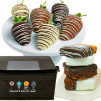 Dylan's Candy Bar Chocolate-Covered Strawberries & Gourmet Brownies | Dylan's Candy Bar