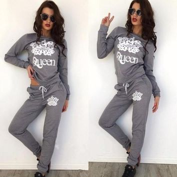 Women's Suits suprem New Sweatshirts Hoodie punk Gothic Sweatsuit letter Black Grey To