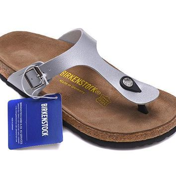 f35c7f6036f Men s and Women s BIRKENSTOCK sandals Gizeh Birko-Flor Patent 63