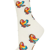 All Over Parrot Ankle Socks - Tights & Socks - Bags & Accessories - Topshop USA