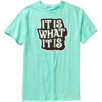 It Is What It Is Men's Graphic Tee - Walmart.com