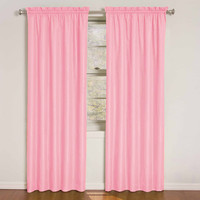 Eclipse Curtains Kids Wave Rod Pocket Window Single Curtain Panel & Reviews | Wayfair