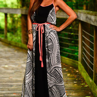 All An Illusion Maxi, Black/White