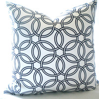 black pillow, black and white pillow cover, white and black pillow cover, all sizes available