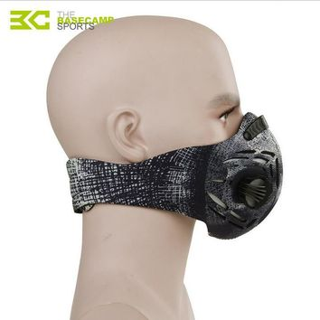Basecamp Cycling Face Mask Sports Jogging Training Mask Fitness Dust Mask Mens Motorcycle Air Filter Mask Half Face Bike