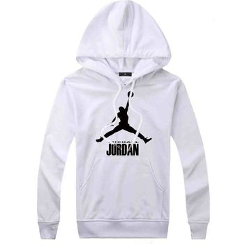 Jordan Women Men Fashion Casual Top Sweater Pullover Hoodie-14