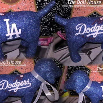 INSTOCK Los Angeles Dodgers MLB Victoria Secret Customized Puppy Dog