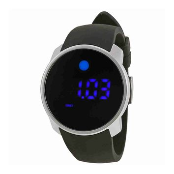 Movado Men's 3600146 Bold Digital Display Swiss Quartz Black Watch