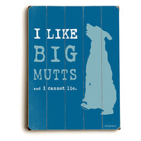 One Kings Lane - Prints for the Pet Lover - I Like Big Mutts