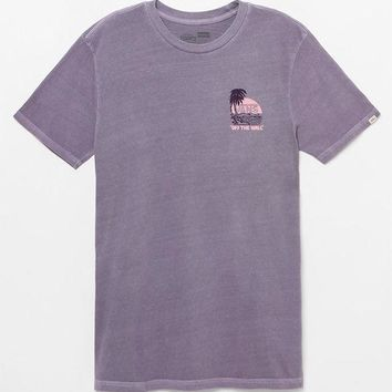 VONE05W Vans Coasted Washed T-Shirt