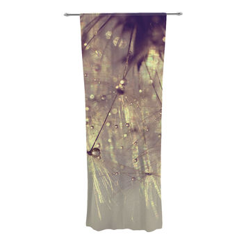 "Ingrid Beddoes ""Sparkles of Gold"" Decorative Sheer Curtain"