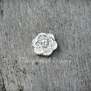 Flower Floating Charm / Floating Locket Charm / Locket Charm