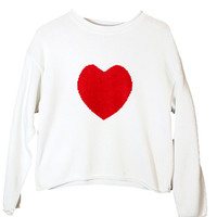 """Heart On"" Ugly Valentines Day Sweater - The Ugly Sweater Shop"