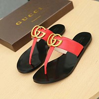 "❤shosouvenir❤""GUCCI""Fashion Women Casual Comfortable Sandals Shoes Slippers"
