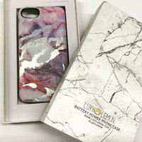 Pastel Holo Marble Battery Power Phone Case