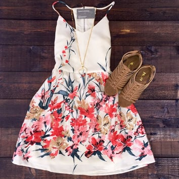 Floral Vibe Party Dress