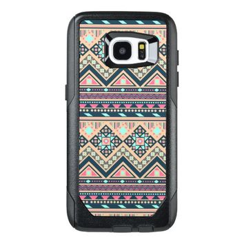 Colorful Abstract Aztec Tribal Pattern Geometric OtterBox Samsung Galaxy S7 Edge Case
