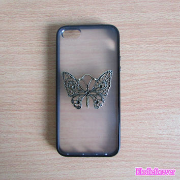 50% OFF,  Vintage iPhone 5 case,Butterfly iPhone Case, Butterfly iPhone 5 case, Retro iPhone 5 case,Designer iPhone case, cute iphone case
