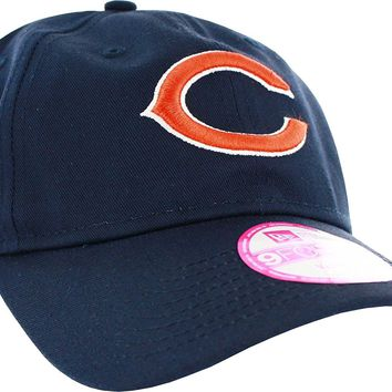 Chicago Bears Womens NFL13 Breast Cancer Sideline 9Forty Adjustable Hat