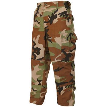 Tru-Spec BDU Woodland Camo Pants (Nylon/Cotton)