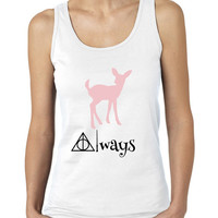 Always Doe Patronus, Ladies Harry Potter Inspired Tank Top