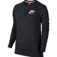 Nike Women's Gym Vintage Long Sleeve Crew Shirt | DICK'S Sporting Goods