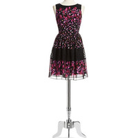 Betsey Johnson Floral and Lace Dress