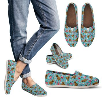 Bloodhound Flower Casual Shoes