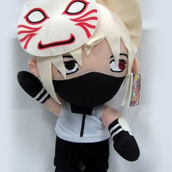 "Naruto: ""Plush - Anbu Kakashi 12in (30cm)"" : TokyoToys.com: UK Based e-store, Anime Toys Retail & Wholesale, Manga Action Figures,  Hentai Statues, Japanese Snacks, Pocky, DVDs, Gashapon,  Cosplay, Monkey Shirt, Final Fantasy, Bleach, Naruto, Death Note, W"
