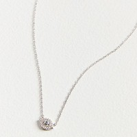 Adina Reyter Super Tiny Pave Evil Eye Necklace | Urban Outfitters