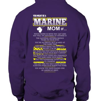 You Might Be A Marine Mom If