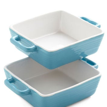 ModCloth Vintage Inspired Double the Decadence Mini Bakeware Set