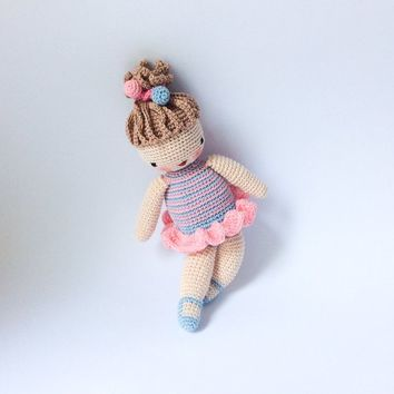 Amigurumi crochet doll Nursery toy Baby toy Doll for daughter