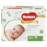 Huggies® Natural Care® Baby Wipes, Refill - 552 ct