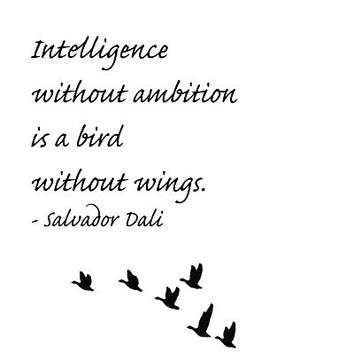 Quote Print from Salvador Dali, Print Art, Wall Decor, Word Art, Home Decor, Spaniard Artist