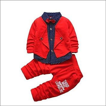 2pcs Baby Boy Formal Suits