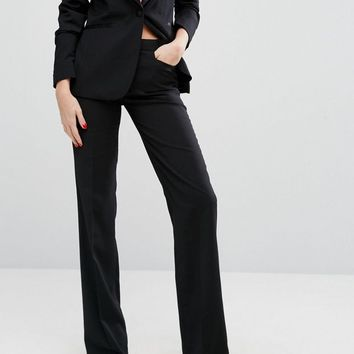 Millie Mackintosh High Waisted Flared Suit Pants at asos.com
