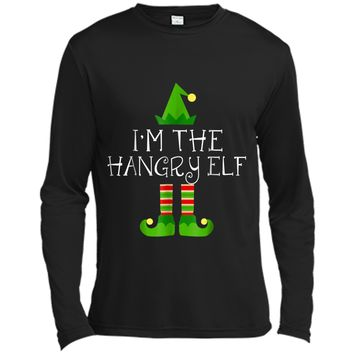 I am The Hangry Elf Matching Family Group Christmas  Long Sleeve Moisture Absorbing Shirt
